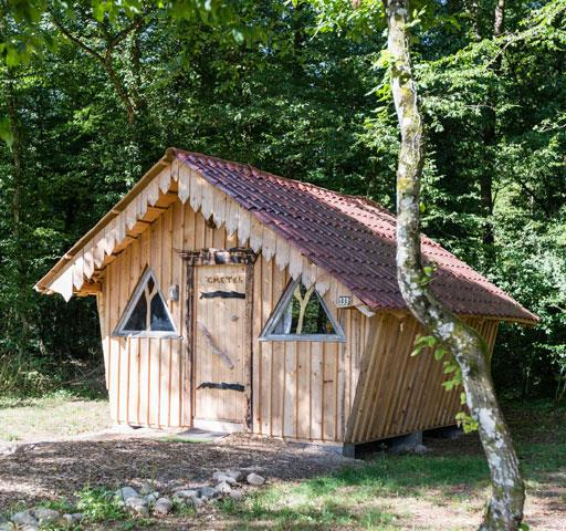 Atypical Wooden Hut of Gretel: rental of atypical accommodations near the Vosges Mountains
