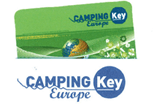 Logo Package Deal Camping Key, offered at the campsite Les Castors, rental of mobile homes in Alsace