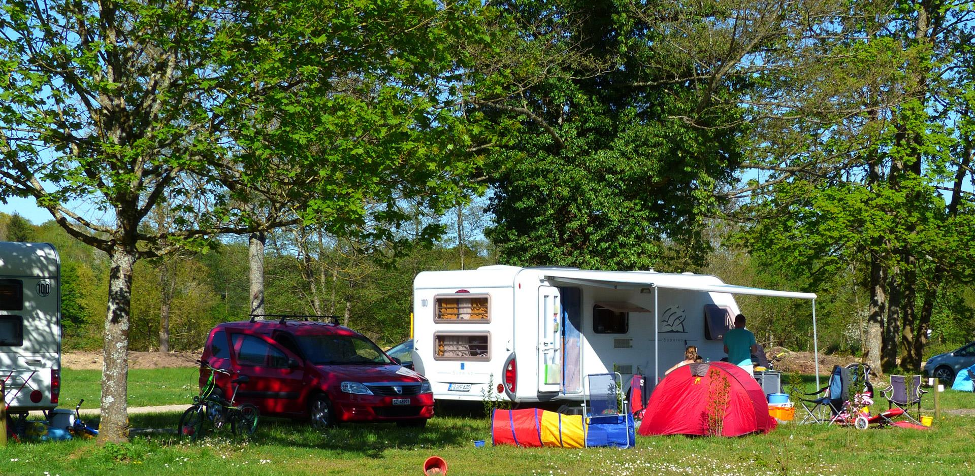 Pitches for tent, caravan and motorhome near Mulhouse