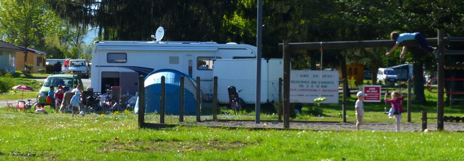 Emplacement camping cariste Grand-Est