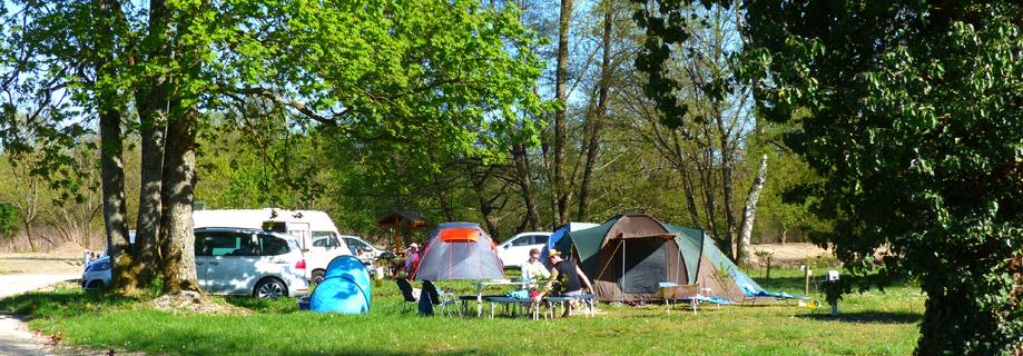 Emplacement camping cariste Haut-Rhin