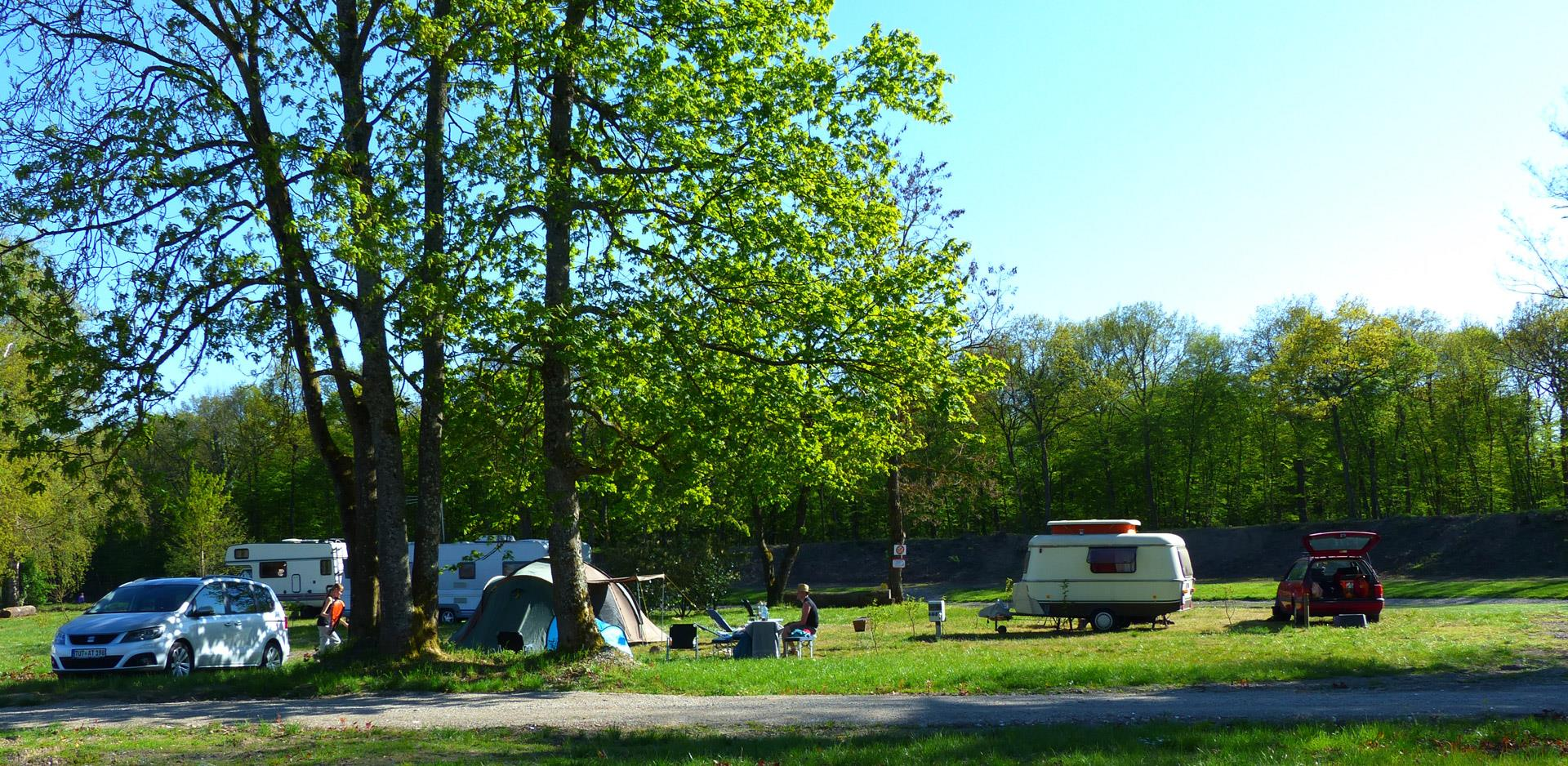 Pitches for tent, caravan and motorhome near Strasbourg