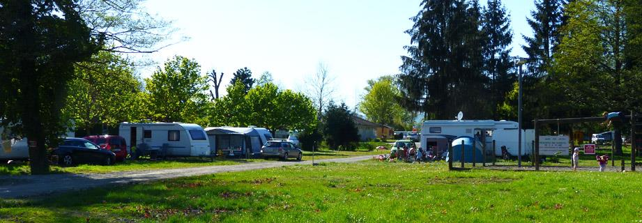 Pitches for tent, caravan and motorhome near the Vosges Mountains