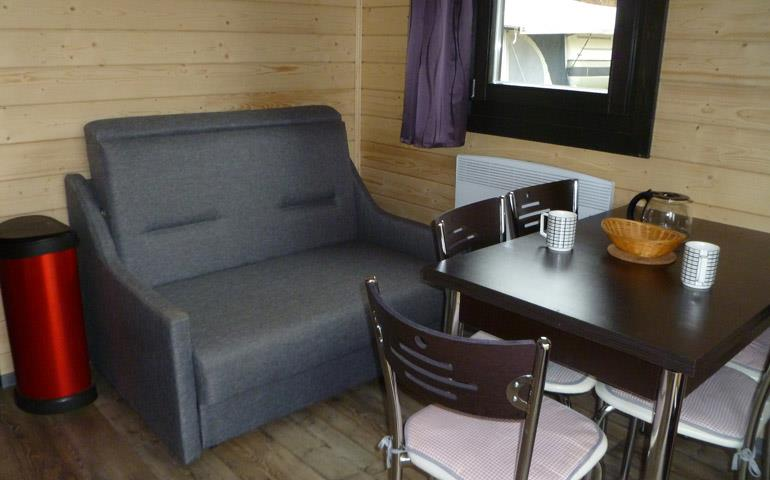 Holiday rental, wooden chalet near Colmar