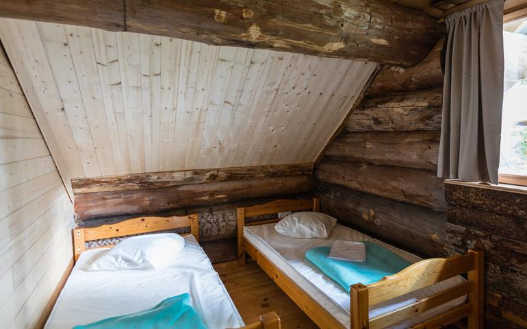 Holiday rentals of log cabins and chalet - Grand Ballon: campsite near Colmar