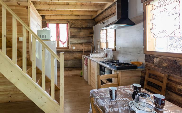 Holiday rentals of log cabins and chalet - Grand Ballon: campsite near Mulhouse