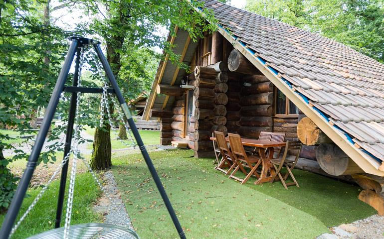 Holiday rentals of log cabins and chalet - Ballon d'Alsace: campsite near Mulhouse