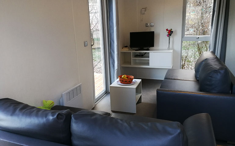 Mobile home up for rental, holidays rental nearby Strasbourg