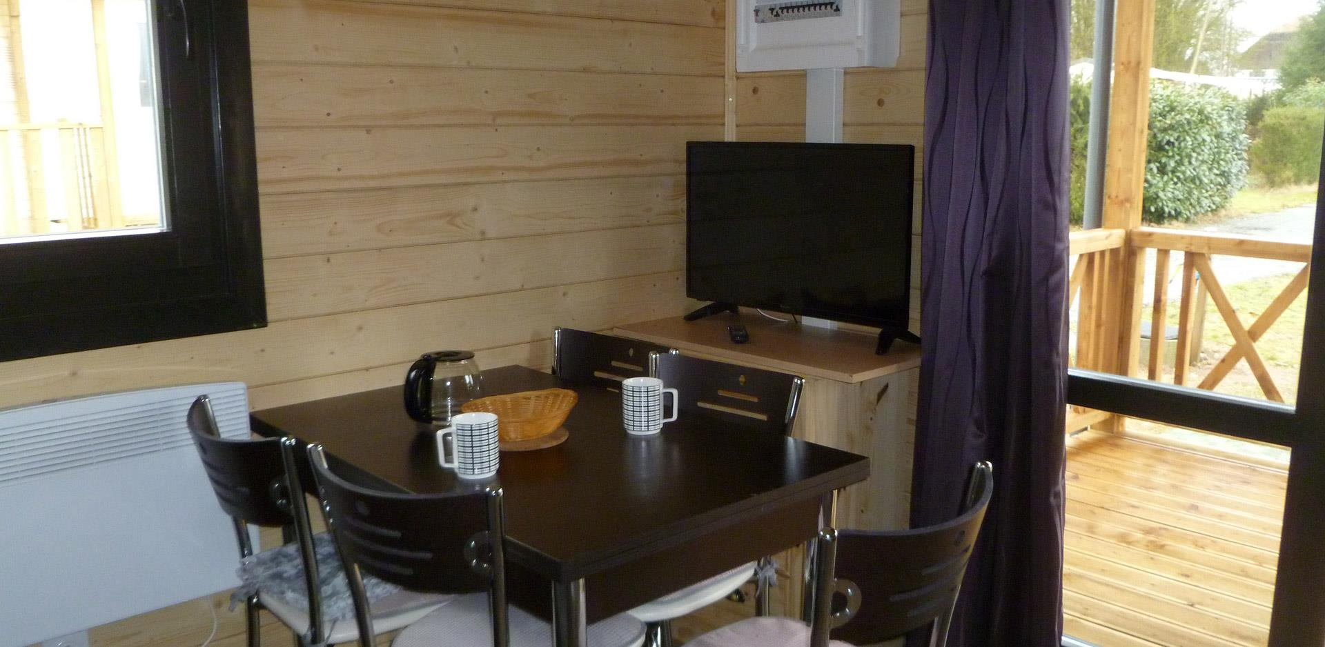 Holiday rental, wooden chalet near Mulhouse