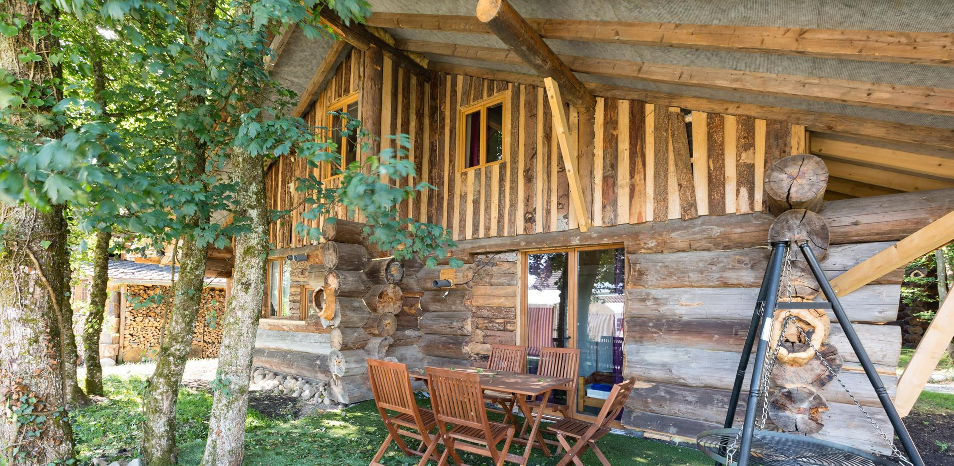 Holiday rentals of log cabins and wooden chalet near Mulhouse
