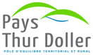 Logo Pays Thur Doller, partner of the campsite Les Castors in Alsace