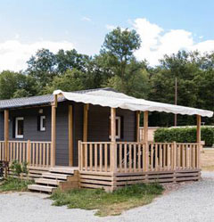 2 bedrooms Mobile Homes vacation rentals at the Campsite Les Castors, at the foothills of the Vosges Mountains
