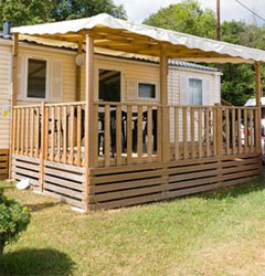 3 bedrooms Mobile Homes holiday rentals in Alsace at the Campsite Les Castors